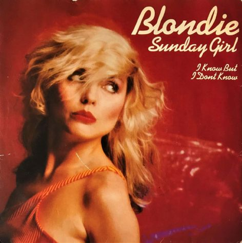 "Blondie ‎- Sunday Girl (7"") (G-VG/G-VG)"